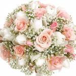 Букет невесты из тюльпанов и роз